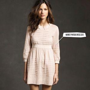 Alexa Chung for Madewell Harriet Pintuck Dress
